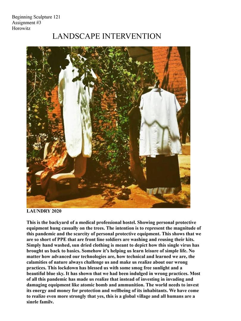 Faisal Alsayari, 'Laundry,' 2020
