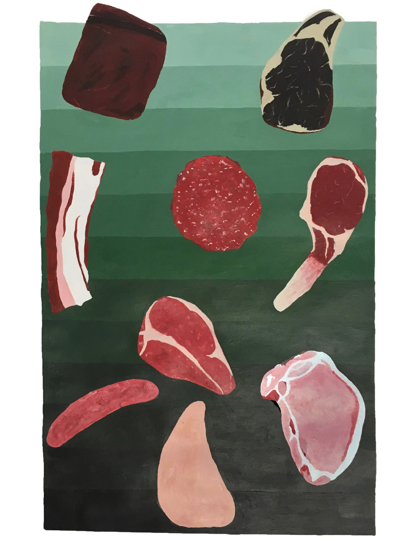 Sally Johnston, Meat Gradient
