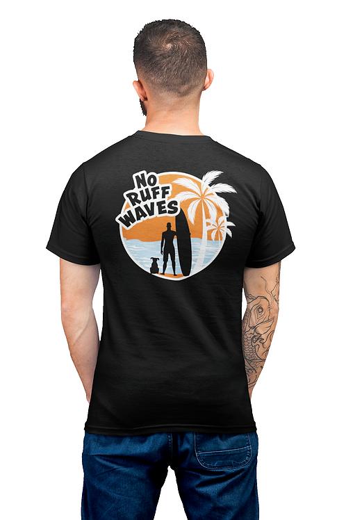 Men's No Ruff Waves T-Shirt | Short Sleeve, Crew Neck