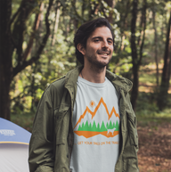 Unisex Tails on the Trails Short Sleeve Tee