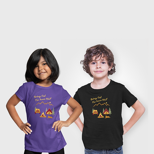 Youth Camping T-Shirt   Unisex