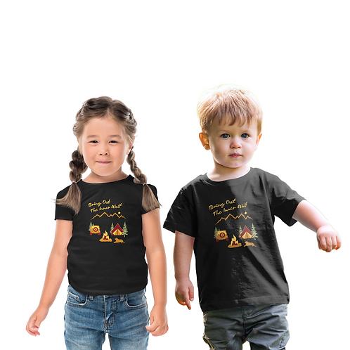 Toddler Camping T-Shirt   Unisex