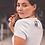 Thumbnail: Women's No Ruff Waves T-Shirt   Short Sleeve, V-Neck