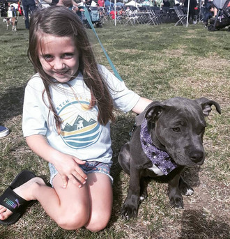 Hanging with a baby Pitty.jpg