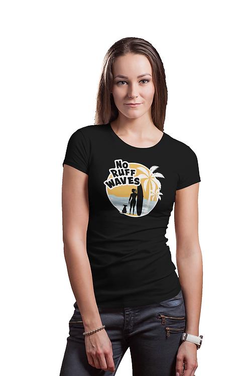 Women's No Ruff Waves T-Shirt | Short Sleeve, Crew Neck