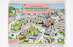 The Story of Impressionism: 1000 Piece Art Jigsaw Puzzle