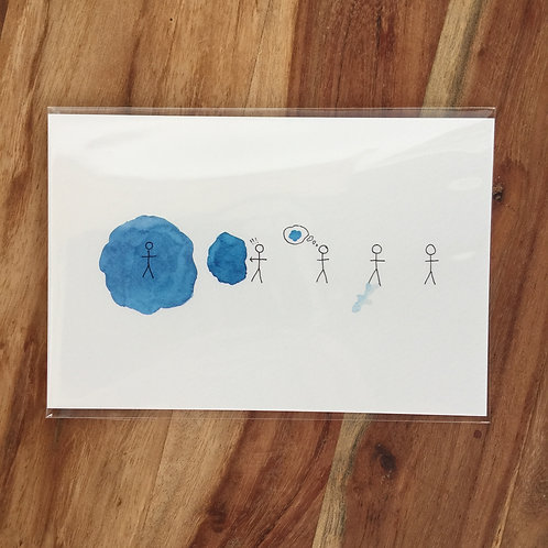 Print: Trauma in Blue