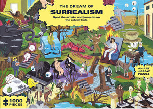 The Dream of Surrealism: 1000 Piece Art Jigsaw Puzzle