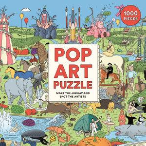 Spot the Pop Artist: 1000 piece puzzle