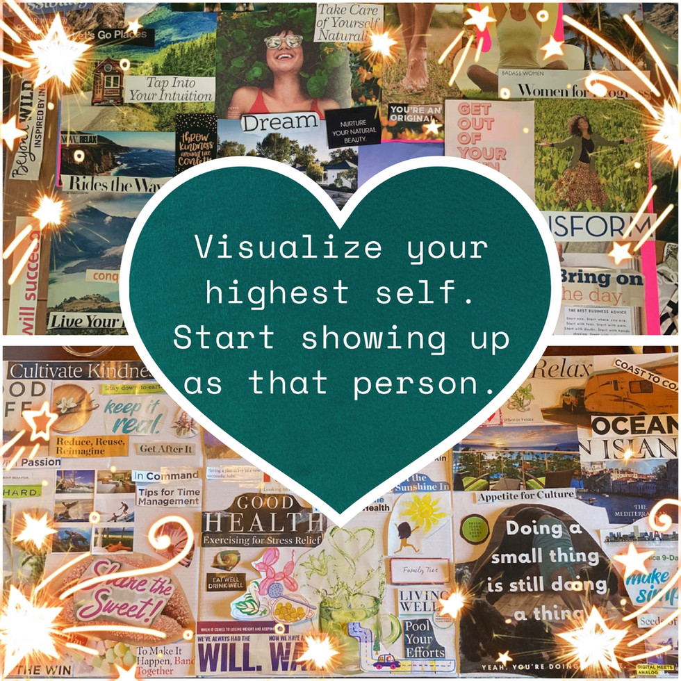 VISUALIZE & SHOW UP AS THE BEST VERSION OF YOURSELF