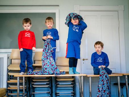 Une école maternelle d'un genre particulier