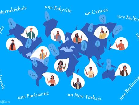 Les grandes villes étrangères et leurs habitants