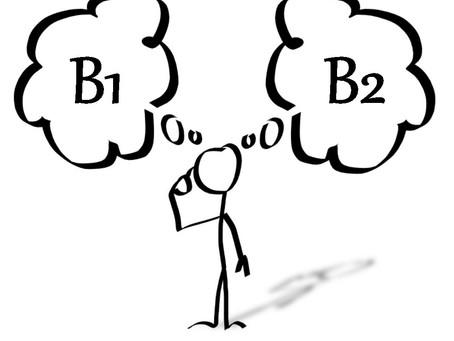 Quelle est la différence de niveau entre le DELF B1 et le DELF B2 ?