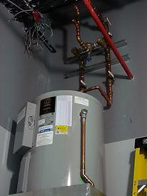 Boro Plumbing Water Heater Installation
