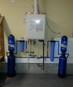 Boro Plumbing Water filter system installation