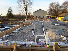 Boro Plumbing New Construction Job