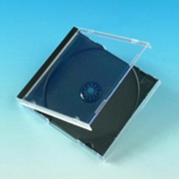 STANDARD JEWEL CASE  / Clear-Black min 12pc.