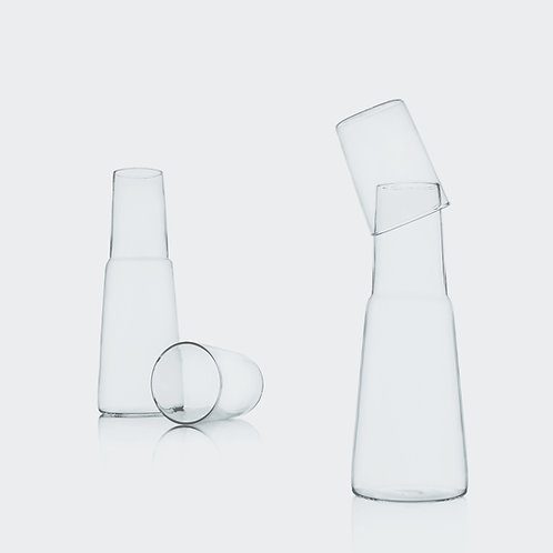 Set Night Bottle + Glass von Ichendorf Milano