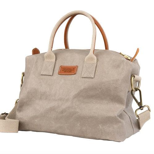 hellgraue Handtasche, Vorderansicht