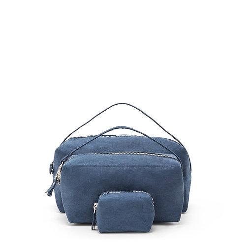 blaues Beauty Case, Vorderansicht