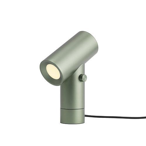 grüne Leuchte Beam von Muuto, Seitenansicht