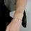 Thumbnail: Audrey Armkette mit Süßwasserperlen vergoldet / versilbert