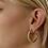Thumbnail: Tara Slime, L Ohrringe vergoldet