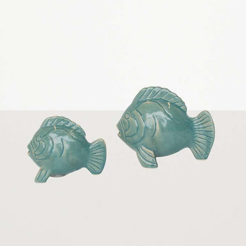 Porzellanfische für Salz & Pfeffer