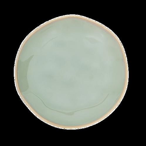 Keramikteller Grow blau & grün