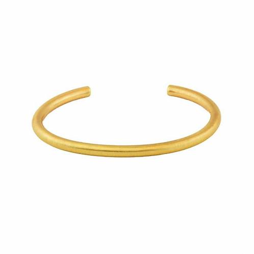 Infinity Armreif vergoldet / versilbert
