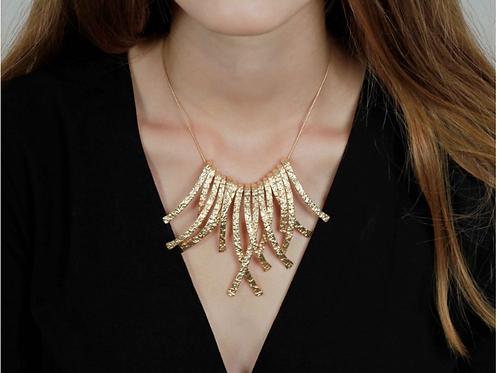 Halskette, vergoldet