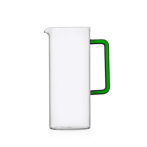 Tub Jug von Ichendorf Milano mit grünem Glasgriff