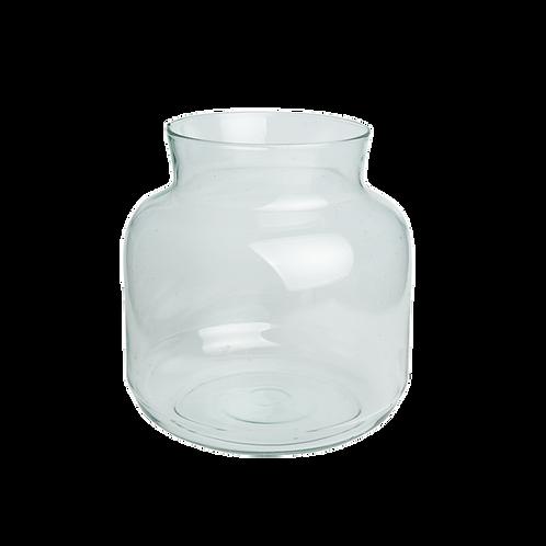 Vase aus Recyclinglas, Vorderansicht