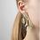 Ohrringe 3D gedruckt, getragen