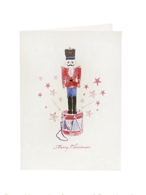 Magic Nutcracker Weihnachtskarte