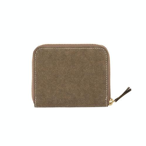 Uashmama vita wallet in olive grün, Vorderansicht