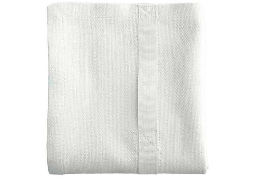 Küchenhandtuch, Baumwolle weiß