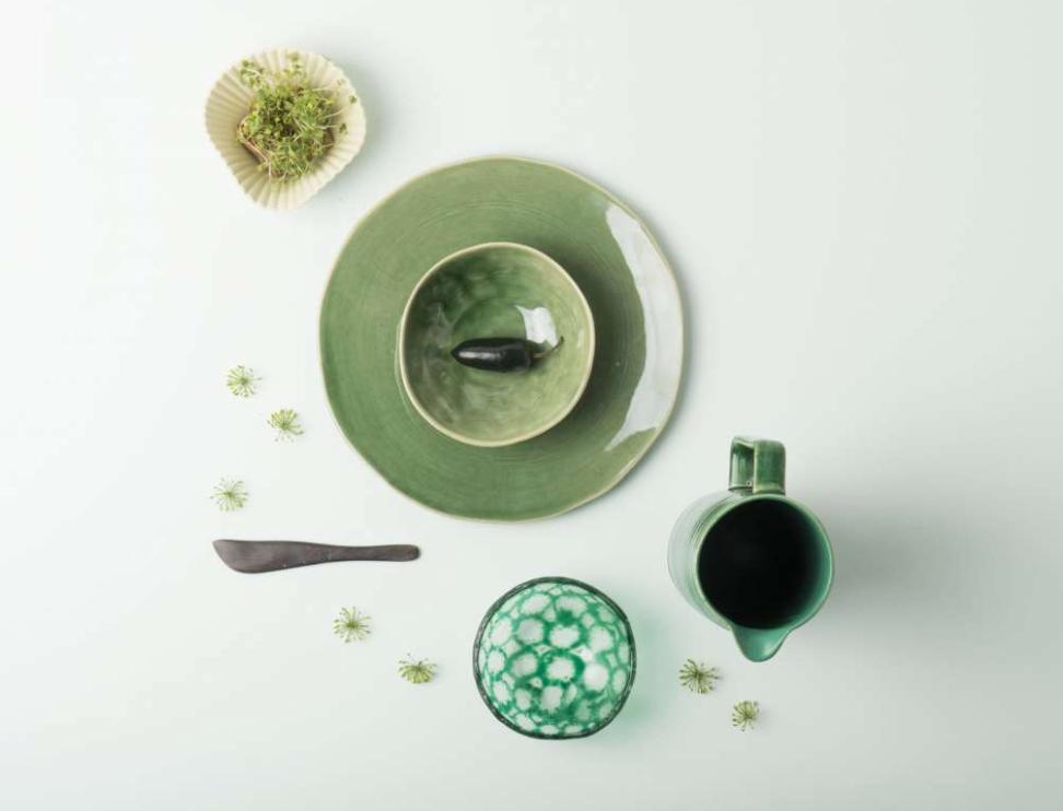 Schale und Teller Keramik