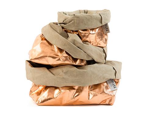 Paper Bag  Metallic Large