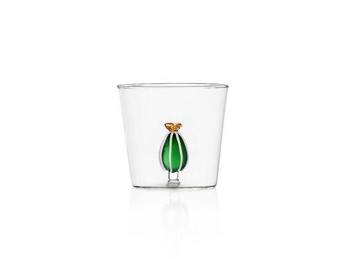 Deser Plants Glas von Ichendorf Milano mit gelber Kaktusblüte by CPS concept store