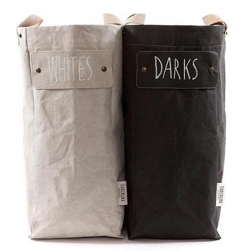 Laundry Bag, Uashmama, Laundry Bag Uashmama aus waschbarem Papier, Wäschesack aus waschbarem Papier