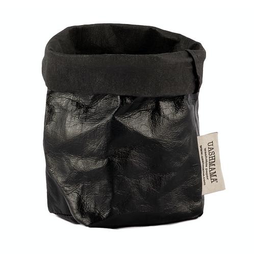Paper Bag  Metallic Black Piccolo