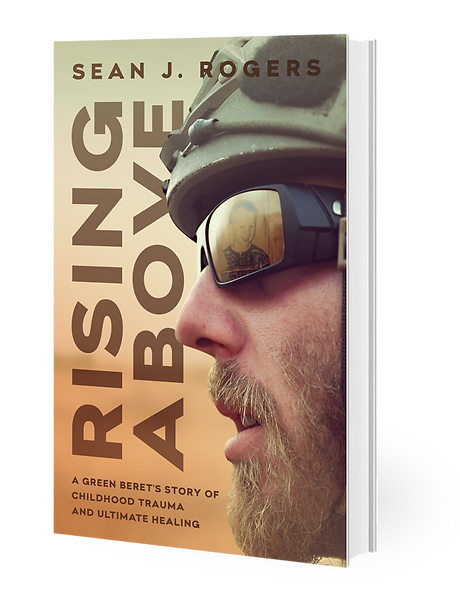 Sean J Rogers_Rising Above_Front Cover L