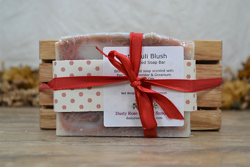 Gift Set of Handmade Soap and Soap Dish
