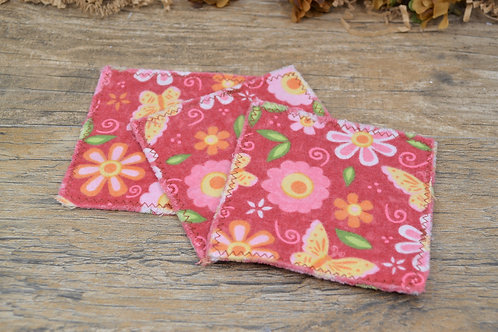 Reusable Cotton Pads with Lingerie Bag, Makeup Remover Pads