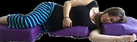 side lying prenatal massage