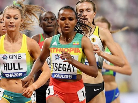 Tsegay triunfó con 4:02.35 en los 1500m de Addis Abeba