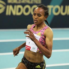 Tsegay rompe el récord mundial de 1,500m bajo techo en Lievin con 3:53.09