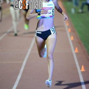 Laura Galvan rompe récord mexicano de 1500m, 4:08.14