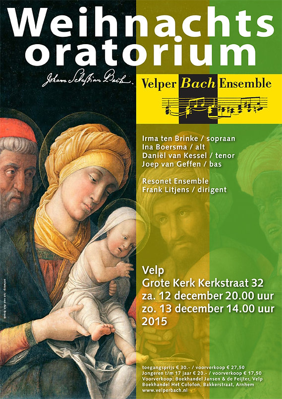 Velper Bach Ensemble - Weihnachtsoratorium
